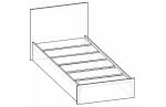 Кровать 0,8 м Валерия 900*800*2032