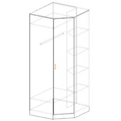 Шкаф угловой Валерия 2200*900 / 900*600