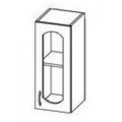 ШСТ 30 Шкаф Ева витрина навесной (300*300*720)