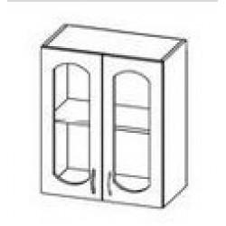 ШСТ 60 Шкаф Ева витрина навесной (600*300*720)