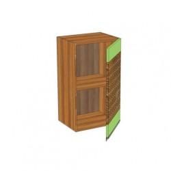 Шкаф 400 с одной распашной дверью