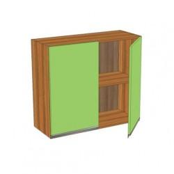 Шкаф 800 с двумя распашными дверьми