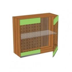 Шкаф 800 с двумя стеклодверьми