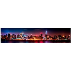 Стеновая панель фотопечать Огни Нью Йорка ASP-04
