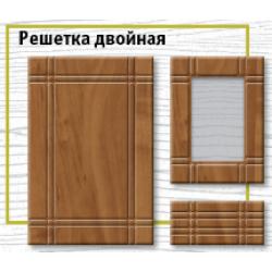 Фрезеровка рисунок Решетка двойная