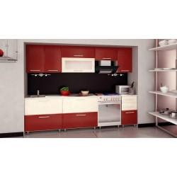 Кухонный гарнитур Селена 192 Бордо-Ваниль