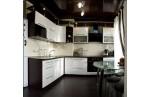 Угловая кухня Контраст
