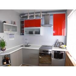 Угловая Кухня Красная шапочка