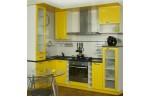 Угловая Кухня Лимонная