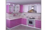 Угловая Кухня Розовая планета