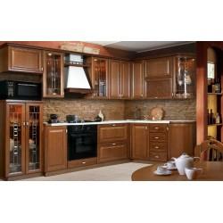 Кухня угловая Рустикаль