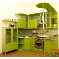 Угловая кухня Весенняя