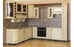 Угловая кухня Ясень жемчужный