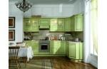 Угловая Кухня Зеленый май