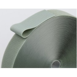 Лента липучка серая 50 мм