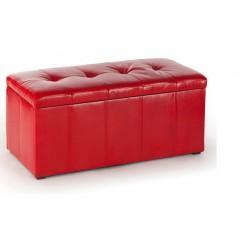 Пуф Эгина 2 красный