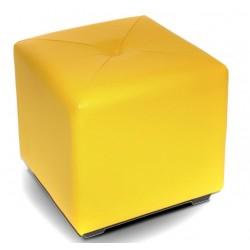 Пуф Эгина желтый