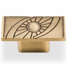 Ручка-кнопка, RK-013, бронза