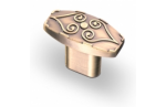 Ручка-кнопка, RK-020, бронза