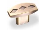 Ручка-кнопка, RK-023, бронза