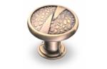 Ручка-кнопка, RK-026, бронза