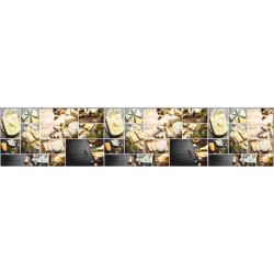 Стеновая панель фотопечать Французские сыры LT-04