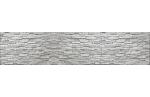 Стеновая панель фотопечать Скальник белый AL-08