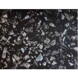 Столешница угол черное серебро 40 мм 5 категория