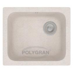 Кухонная мойка из искусственного камня Polygran F-17