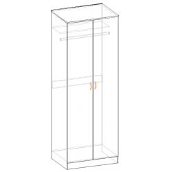 Шкаф для одежды Валерия 800*2200*600