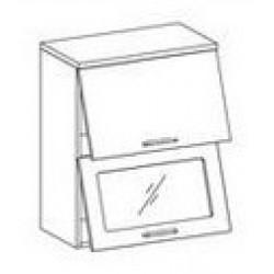 Шкаф Лилия ШСТ-60Г шкаф витрина навесной горизонтальный (600*300*720)