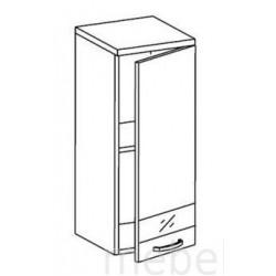 Шкаф Олимпия ШГ-30 шкаф навесной 1-но дверный (300*300*720)