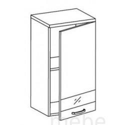 Шкаф Олимпия  ШГ-40 шкаф навесной 1-но дверный (400*300*720)