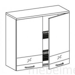 Шкаф Олимпия  ШГ-80С шкаф навесной под сушку (800*300*720)