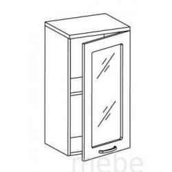 Шкаф Олимпия ШСТ-40 шкаф витрина навесной (400*300*720)