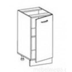 Стол Олимпия С-40 рабочий 1-но дверный (400*450*820) без столешницы