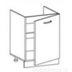 Стол Олимпия СМ-60 под мойку (600*450*820) без столешницы
