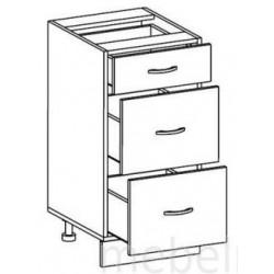 Стол Олимпия СЯ-40 с ящиками (400*450*820) без столешницы