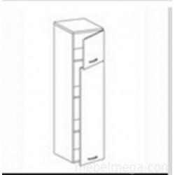 Шкаф пенал Олимпия ПГ-40Л Левый (400х550х1368)