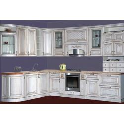 Кухня Прага радиусная угловая