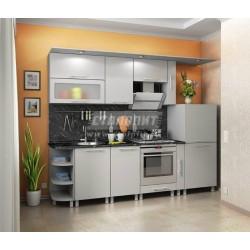 Кухонный гарнитур Аня Серебро