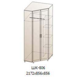 Шкаф для одежды и белья ШК-806