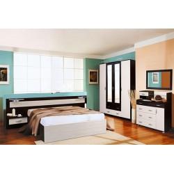Спальный гарнитур Сандра (модульный ряд)