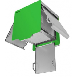 Вытяжка BOX QUADRO 40 GREEN