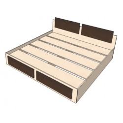 Кровать Комбинированная 2000