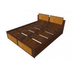 Кровать Комбинированная 1200