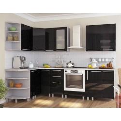 Угловая кухня Контраст 2