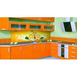 Угловая Кухня Оранж