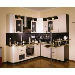 Угловая кухня Ваниль