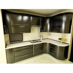 Угловая кухня Хаки